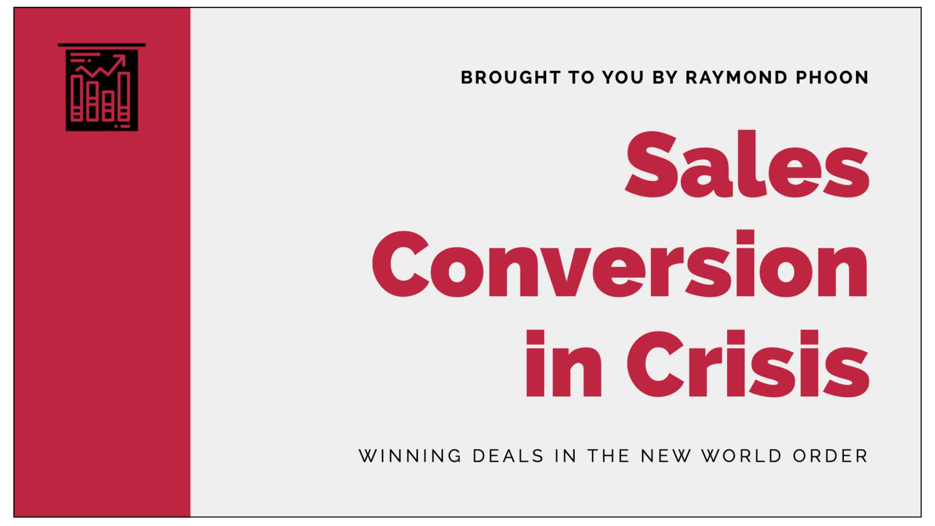 Sales Conversion in Crisis Download