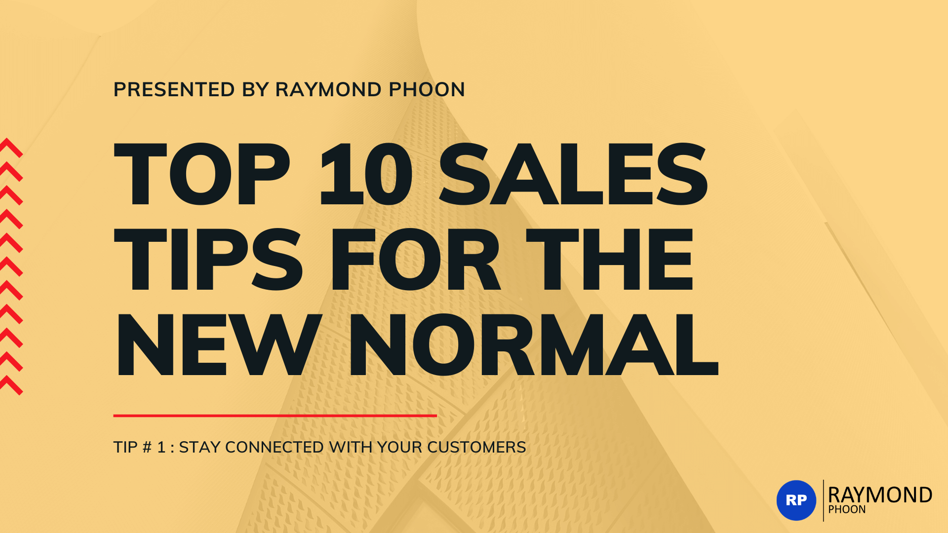 Top 10 sales tips for the new normal